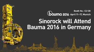 Sinorock will Attend Bauma 2016 in Germany