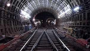 Indian Railway's Longest Tunnel Starts Construction