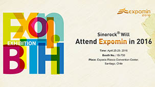 Sinorock® Will Attend Expomin 2016