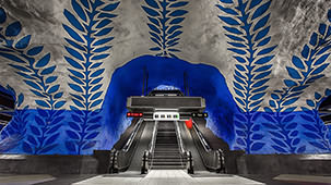 Stockholm Subway —— The World's Longest Art Museum