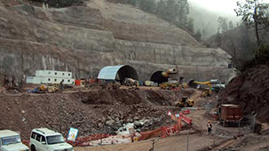 Chenani-Nashri Tunnel in India